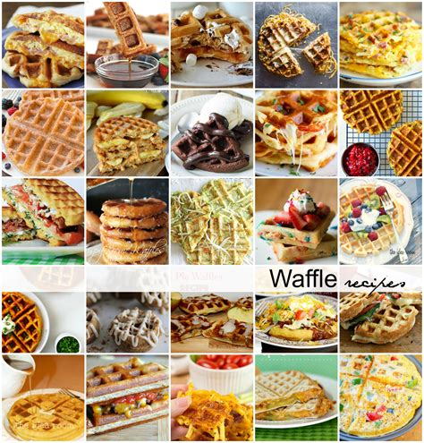 waffle iron ideas 28 images 25 delicious ideas for