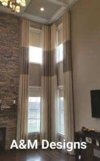 Motorized Blinds For Arched Windows - 17 best images about two story drapery ideas on pinterest high ceilings tall window