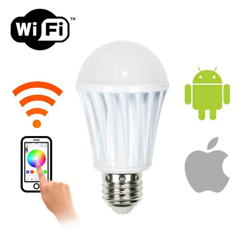 Smart Light Bulbs by Wifi Smart Led Dimmable Light Bulb