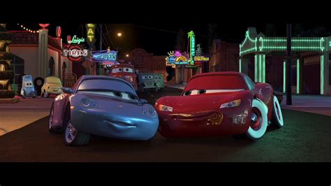 cars sally and lightning mcqueen sally makes out with lightning mcqueen hd