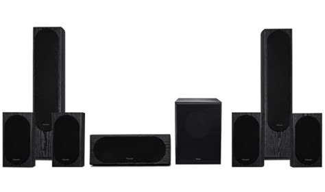 pioneer india aj 5237zt 7 channel speaker package with