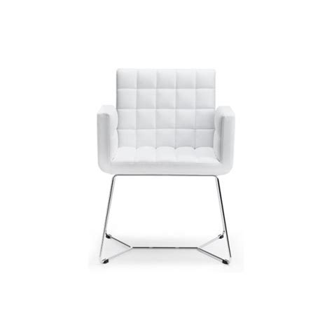 white armchair marsiglia white and metal armchair from ultimate contract uk