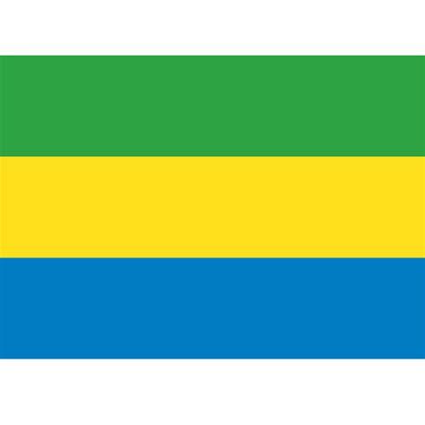 gabon flag  large images