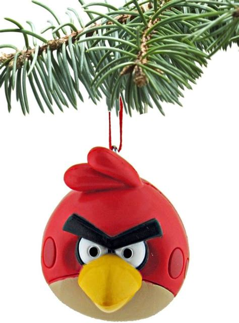 angry birds ornament christmas