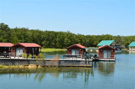 Floating Cabins At Lake Murray by Lake Murray Cabins Botanical Garden