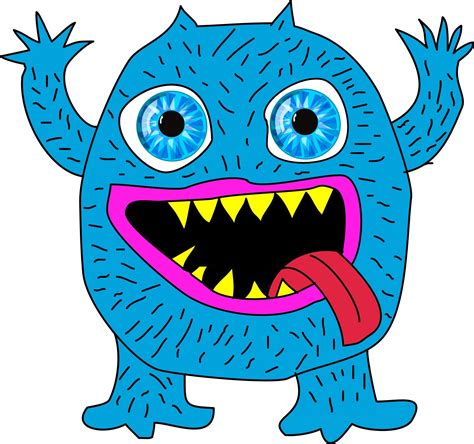 it monster blue monster free stock photo public domain pictures