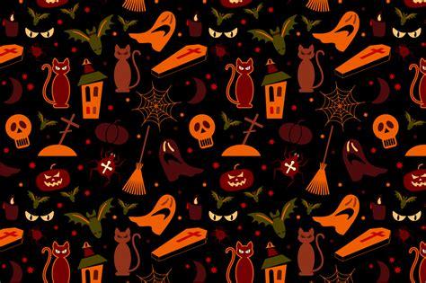halloween pattern tumblr 2 halloween seamless pattern patterns on creative market