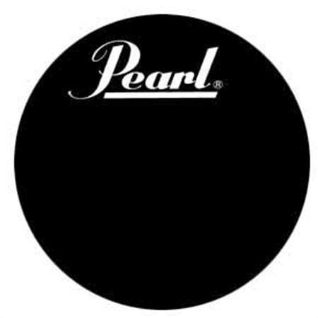 Pearl Protone Drum Heads by Pearl Protone 22 Logo Bass Drum
