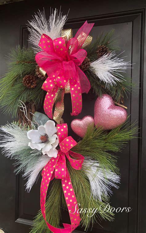 pin  rebecca hackworth  wreaths valentine wreath