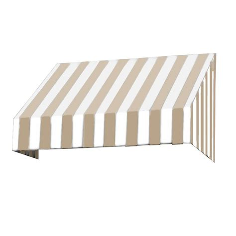 awnings san francisco awntech 4 ft san francisco window entry awning 18 in h x 36 in d in terra cotta
