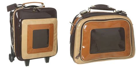 Patent 70s Luggage At Topshop by Topshop Patent 70s Luggage Range Retro To Go