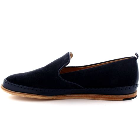mens h by hudson macuco suede slip on espadrille flat