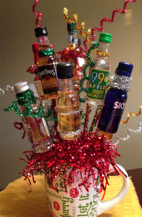 adult holiday favors made this last for gift exchange for adults 12 mini bottles for 12 days