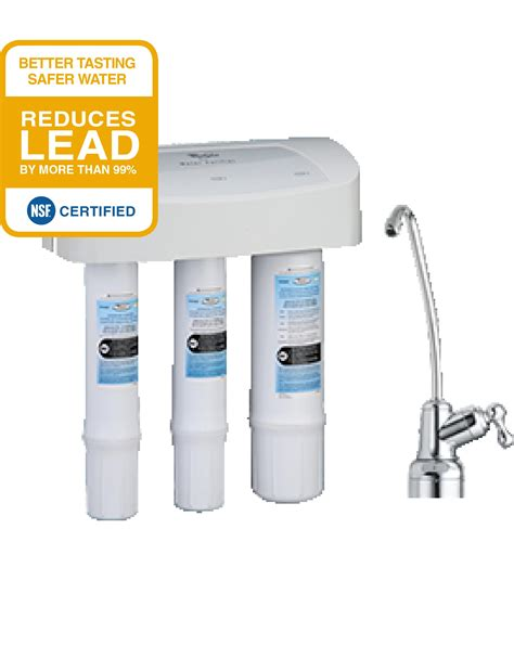 best sink osmosis water filtration system best sink water filtration system whirlpool whemb40