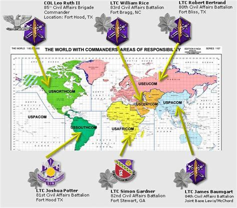 combatant command map geographic combatant commands map pictures to pin on