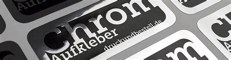 Aufkleber Chrom by Metall Aufkleber Druckundbestell De