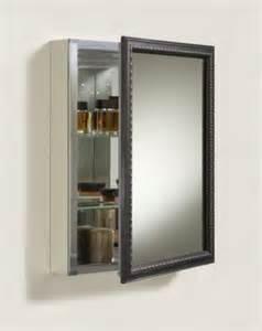 framed mirror medicine cabinet kohler k 2967 br1 aluminum cabinet with rubbed bronze