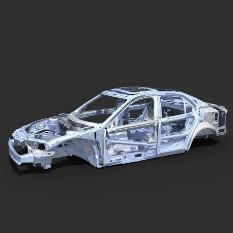 Auto Rahmen by Car Frame 04 3d Model Max Cgtrader