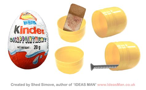 New House Gift Kinder Disappointment Shedsimove Com