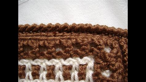 crochet  reverse single crochet  crab stitch youtube