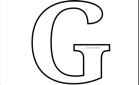 g color printable letter g coloring page use this printable letter