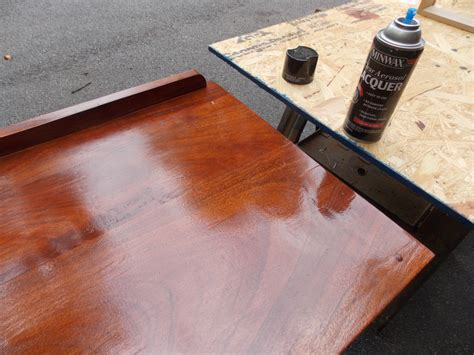 protective coating for wood table refreshing a forgotten table minwax