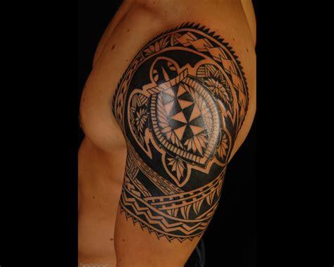 shoulder polynesian tattoo designs maori polynesian turtle shoulder