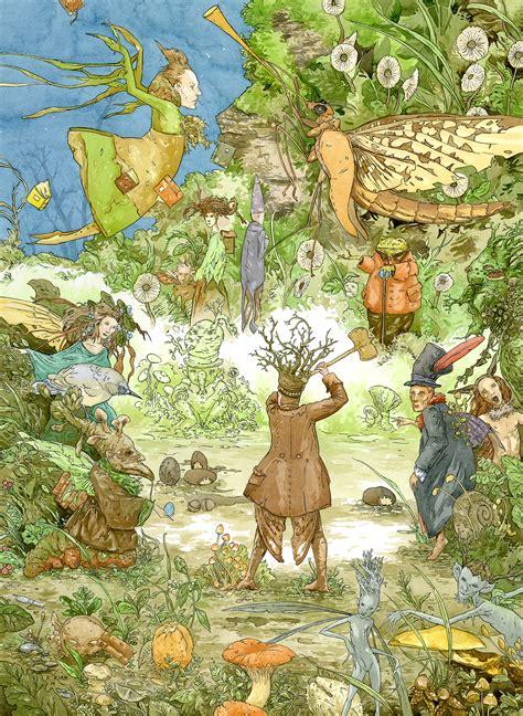 by the fairy fellers masterstroke richard dadd fairy feller s master stroke richard a kirk