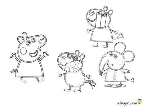 pedro pony coloring page peppa pig y amigos dibujos para colorear gratis
