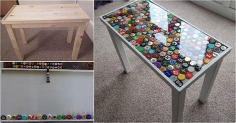 how to make a bottle cap table how to make a bottle cap table how to instructions