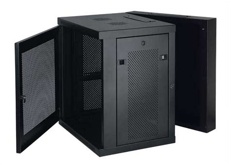 tripp lite 12u wall mount rack enclosure server cabinet