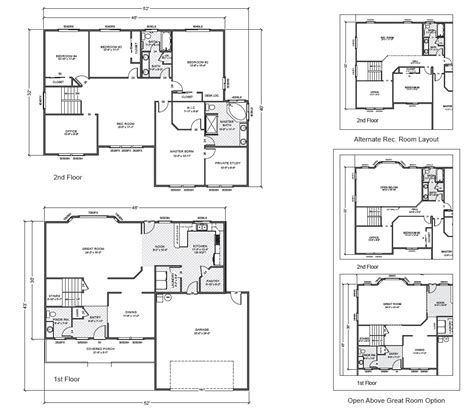 true homes floor plans corey ridge home plan true built home pacific northwest home builder