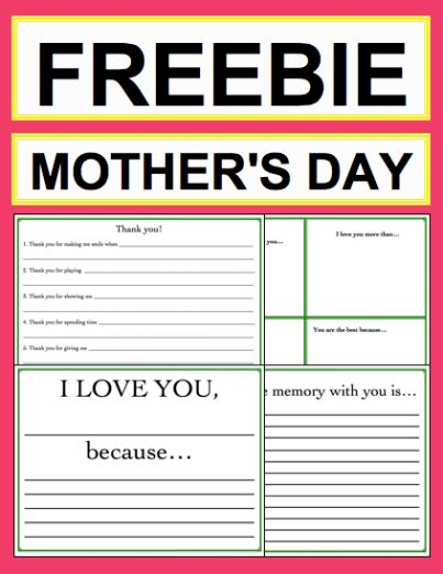 great ideas for mothers day cards reborn4455blog end of year mad libs for kids writing activity
