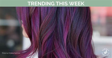 most popular hair colors for spring trending hair colors this week with formulas simply
