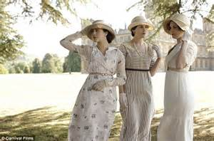 Prim and proper on the show with its attention to edwardian detail