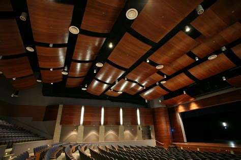 Theatre Ceiling by Curved Wood Kerfkore Company