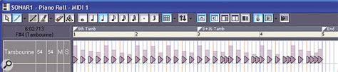 sonar pattern brush creating easier drum parts in sonar 4