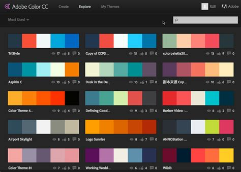 Interesting Color Combinations | interesting 10 color schemes for popular color
