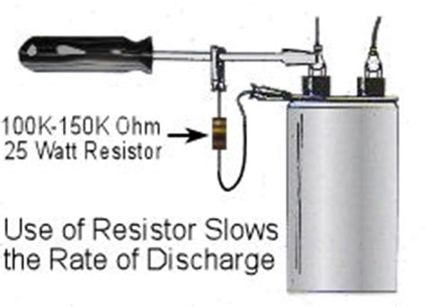 high voltage capacitor discharge resistor how to test the high voltage capacitor used in microwave ovens