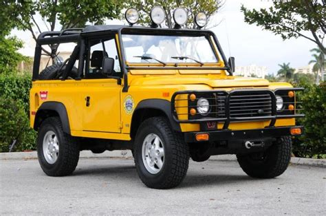 land rover defender 90 yellow 1000 images about land rover defender on
