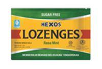 Hexos Permen Rasa Lemon Mint konimex e store hexos lozenges mint