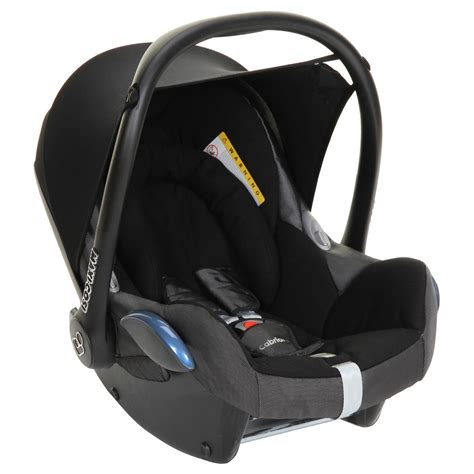 and black car seat maxi cosi cabriofix car seat black reflection kiddicare