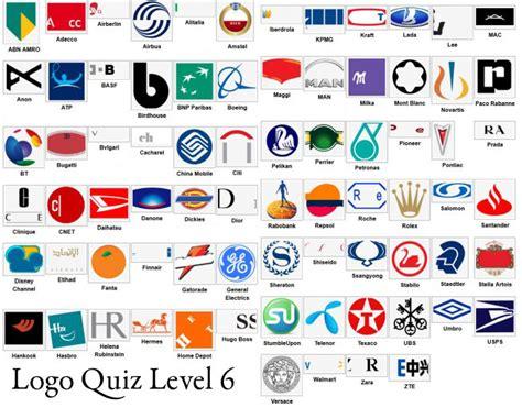 logo quiz level 6 by logo quiz answers level 6