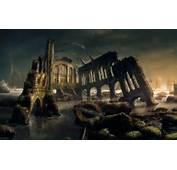 Gothic / Dark Art Fantasy Scenery Desktop Wallpaper Nr 47799
