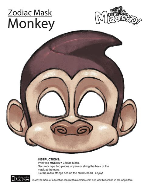 new year animal masks zodiac year of the monkey mask new year