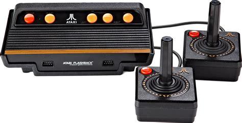 atari console atari flashback 8 gold console includes 120 atari 2600