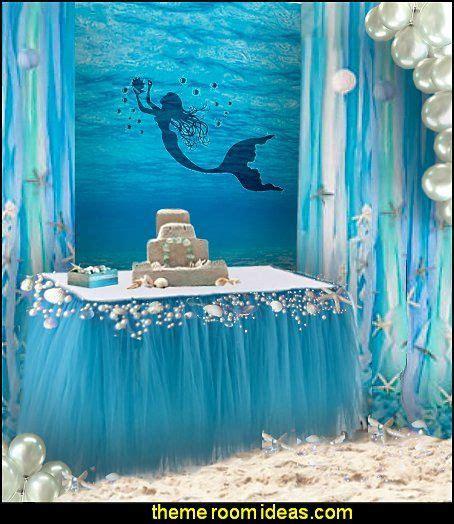 mermaid decorations mermaid ideas mermaid themed birthday ceilings and