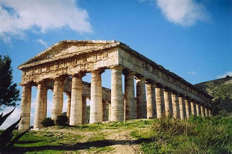 Andrea Pennington Also Search For The Temple Of Segesta Sicily Columns And Carving Pint