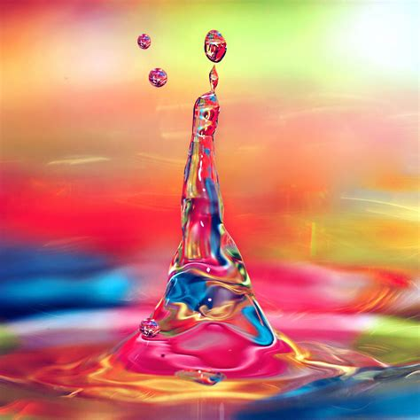 colorful water wallpaper hd freeios7 com iphone wallpaper vs35 waterdrop color
