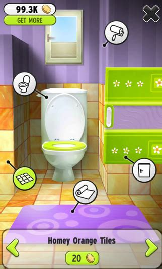 my talking tom bathroom my talking tom for android download